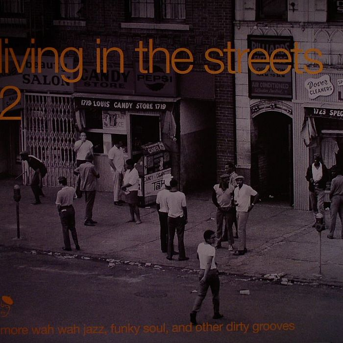 VARIOUS - Living In The Streets Vol 2 :More Wah Wah Jazz, Funky Soul And Other Dirty Grooves