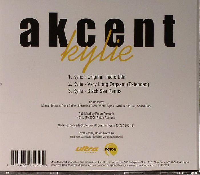 AKCENT - Kylie
