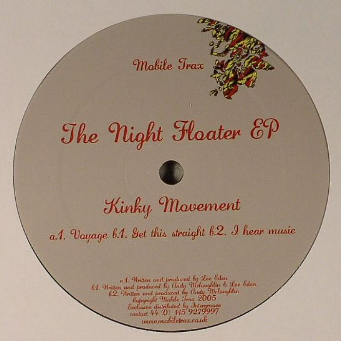 KINKY MOVEMENT - The Night Floater EP
