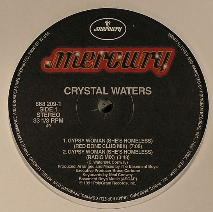 WATERS, Crystal - Gypsy Woman