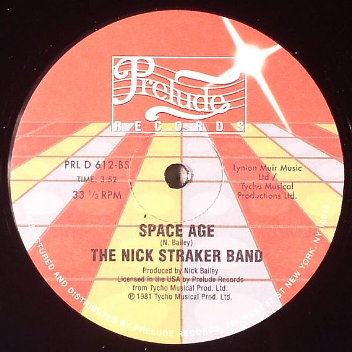 NICK STRAKER BAND, The - A Little Bit Of Jazz