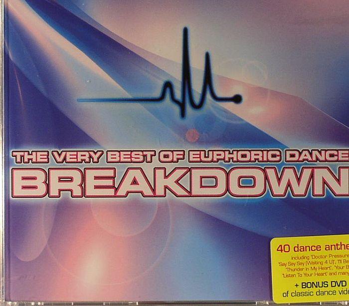 Various The Very Best Of Euphoric Dance Breakdown Vinyl At