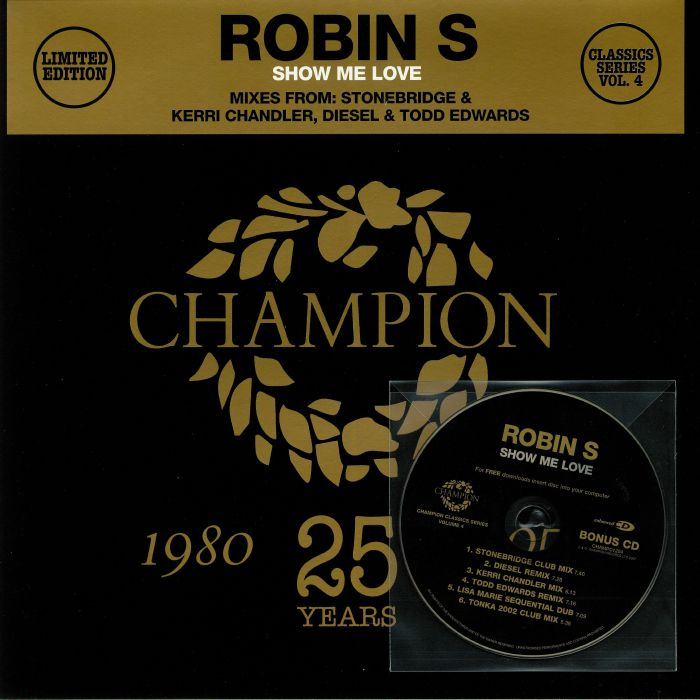ROBIN S Show Me Love (remixes) vinyl at Juno Records