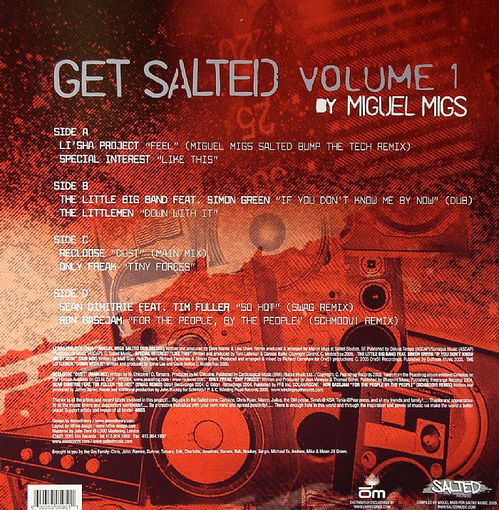 MIGS, Miguel/VARIOUS - Get Salted Volume 1