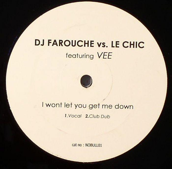 DJ FAROUCHE vs LE CHIC feat VEE - I Wont Let You Get Me Down