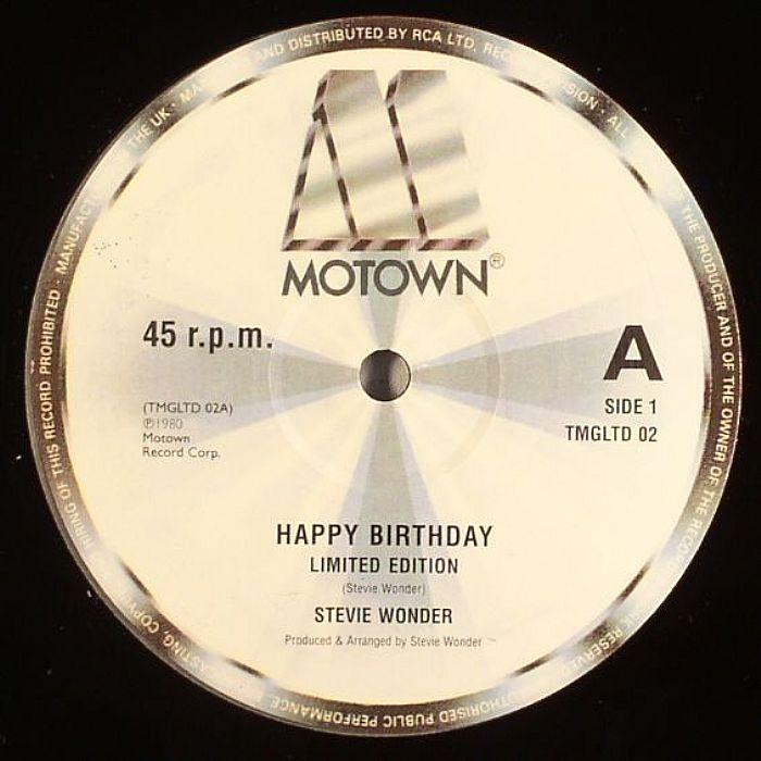 stevie wonder happy birthday vinyl at juno records. Black Bedroom Furniture Sets. Home Design Ideas