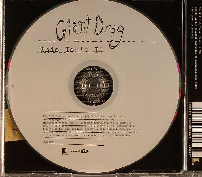 GIANT DRAG - This Isn't It