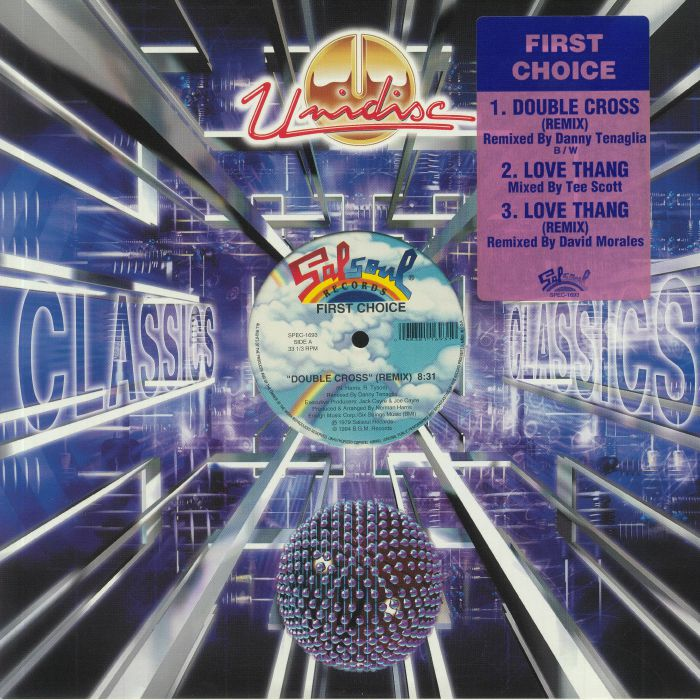 FIRST CHOICE - Double Cross (Danny Tenaglia remix)