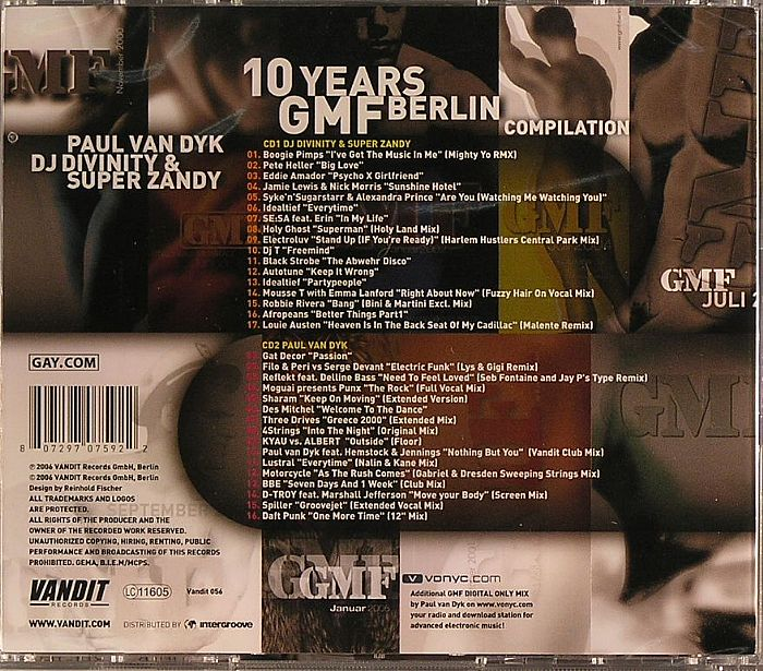 Various - 10 Years GMF Berlin Compilation
