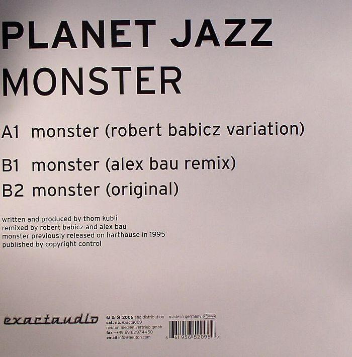 PLANET JAZZ - Monster (remixes)