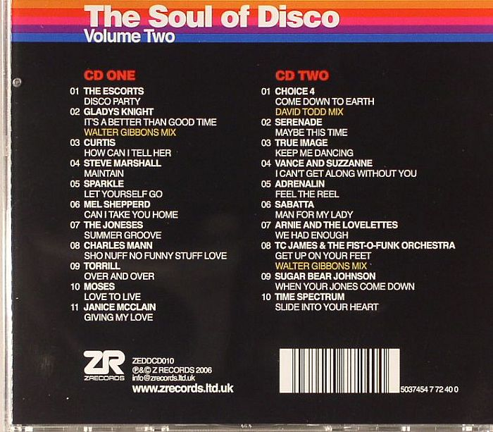 NEGRO, Joey/SEAN P/VARIOUS - The Soul Of Disco Volume 2