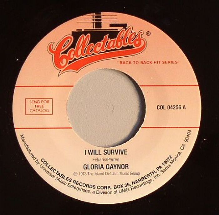 """i will survive """"i will survive"""" was so identifiable with a particular time, place, and culture when  gloria gaynor first belted it out, it was a 1970s anthem of."""