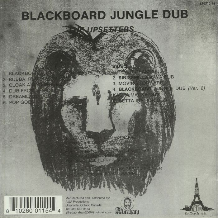 UPSETTERS, The - Blackboard Jungle Dub