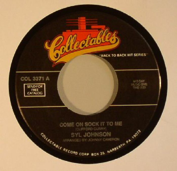 JOHNSON, Syl/NOTATIONS - Come On Sock It To Me