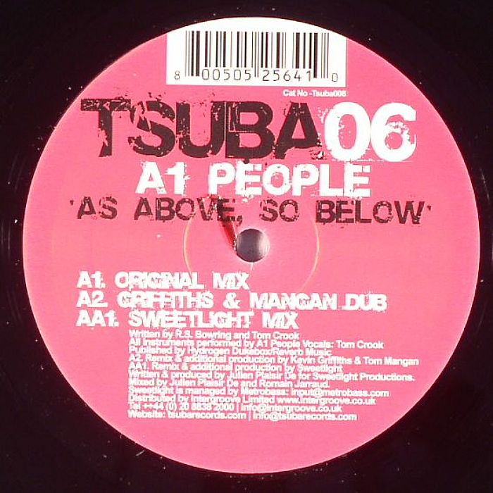 A1 PEOPLE - As Above, So Below