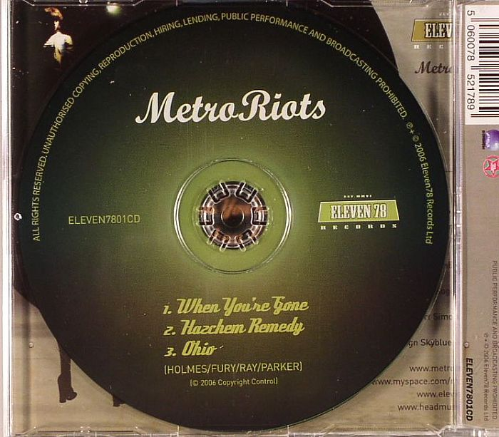 METRO RIOTS - When You're Gone