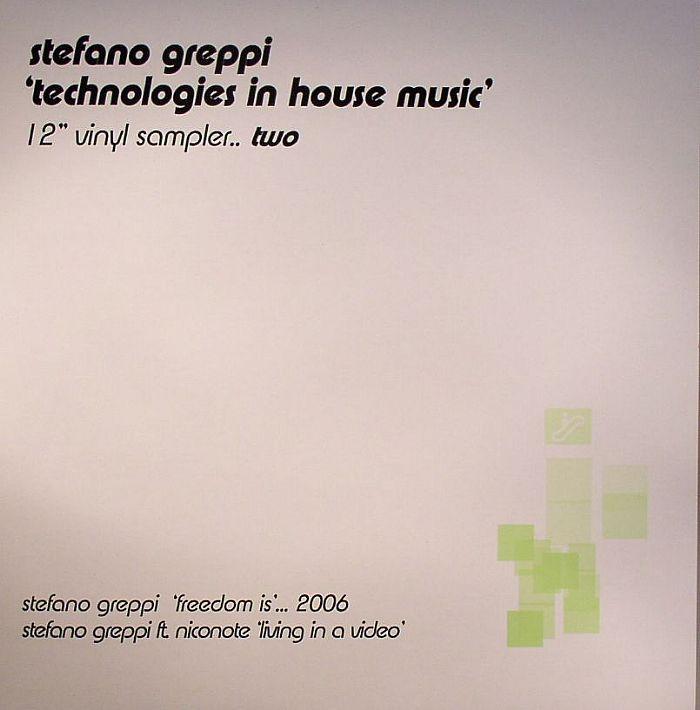 Stefano Greppi - Technologies In House Music - Vinyl Sampler Two