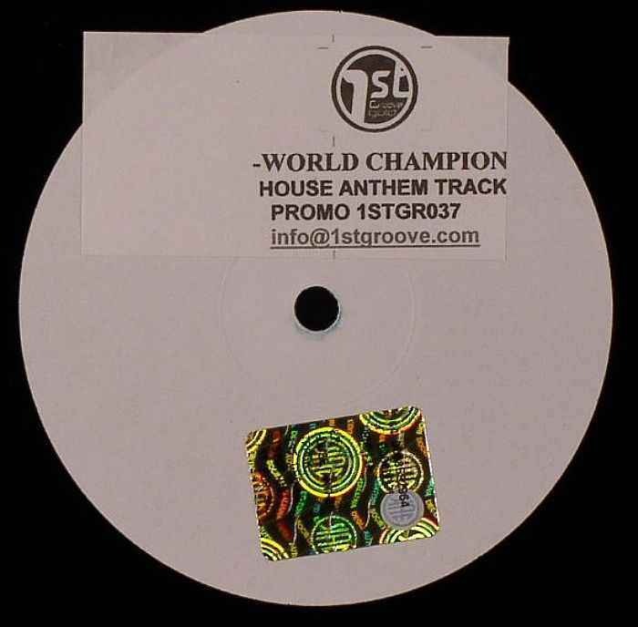 World champions house anthem track vinyl at juno records for Funky house anthems