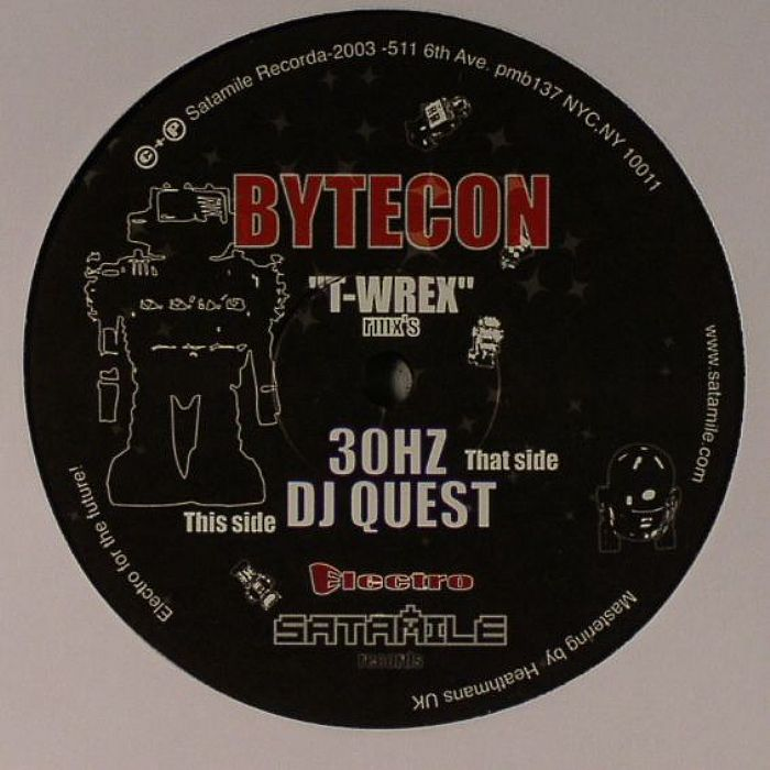 30HZ/DJ QUEST - Bytecon (remixes)