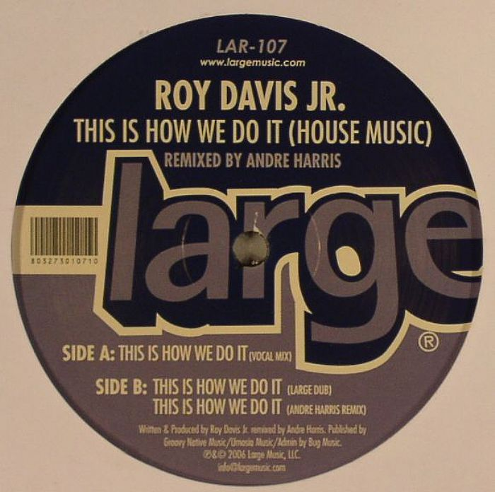 Roy davis jr this is how we do it house music andre for House remixes of classic songs