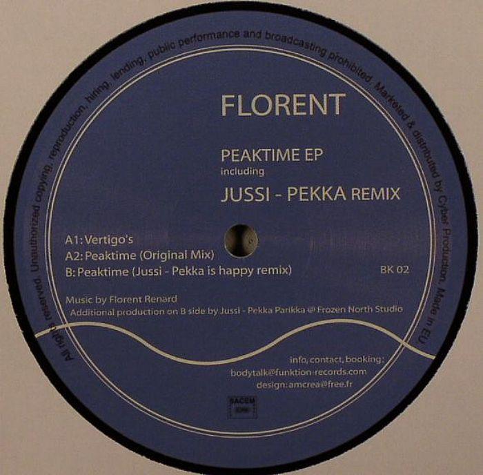 FLORENT - Peaktime EP