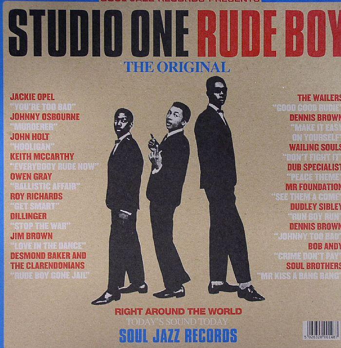 VARIOUS - Studio One Rude Boy: The Original (repress)