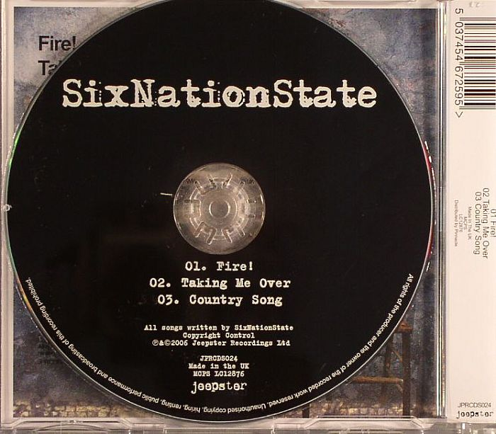 SIX NATION STATE - Fire!