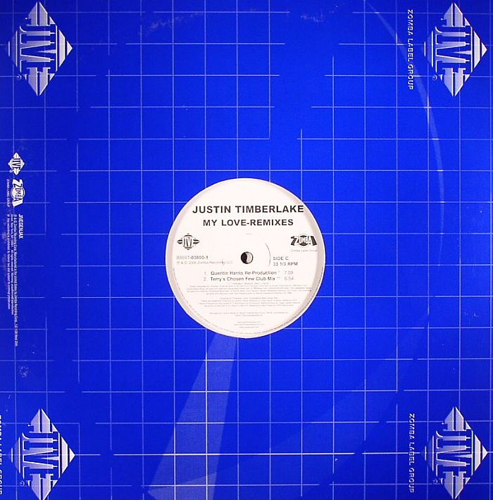 justin timberlake my love remixes vinyl at juno records. Black Bedroom Furniture Sets. Home Design Ideas