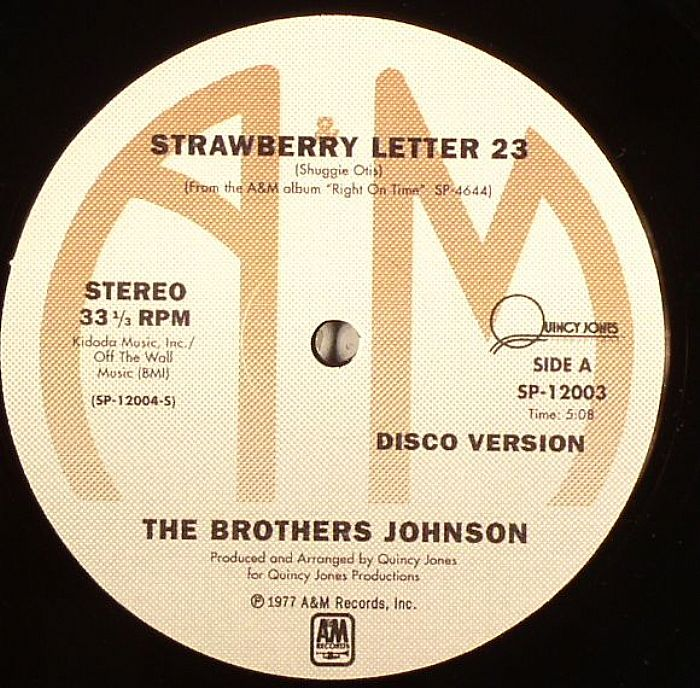 the brothers johnson strawberry letter 23 the brothers johnson strawberry letter 23 vinyl at juno 25143