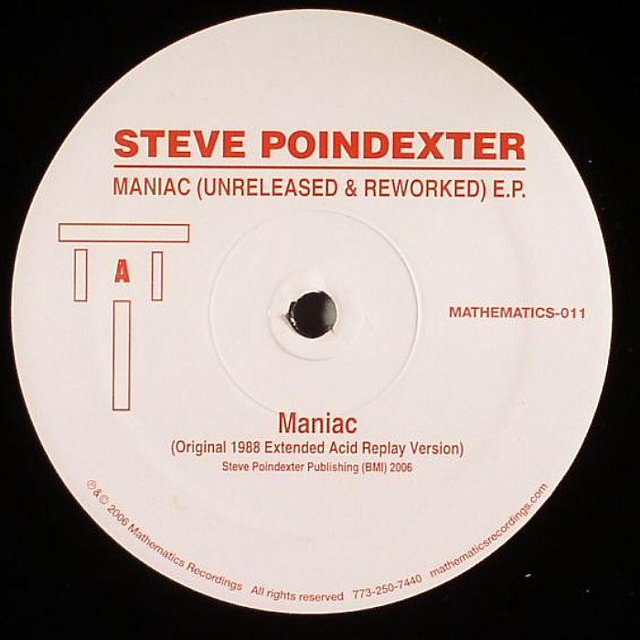 POINDEXTER, Steve/DIMITRI PIKE/NOLEIAN REUSSE - Maniac (Unreleased & Reworked) EP