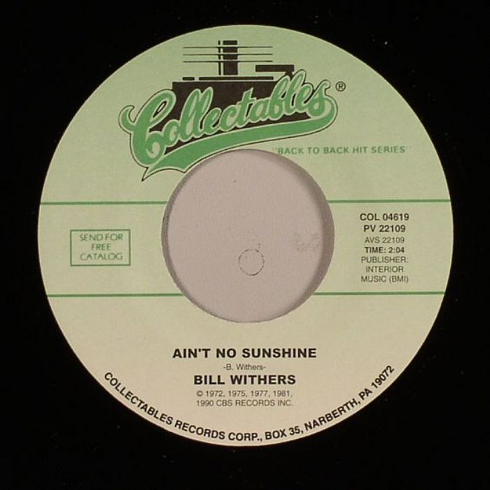 WITHERS, Bill - Ain't No Sunshine