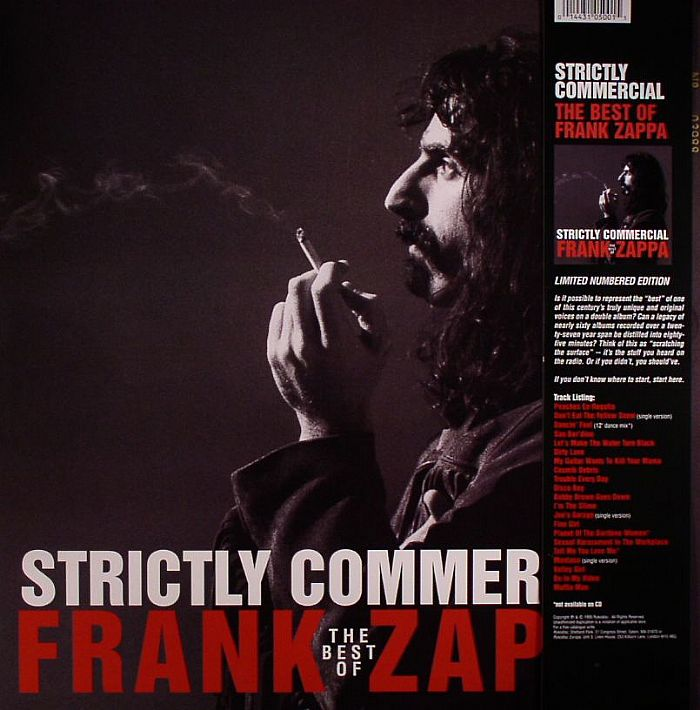 Frank Zappa Strictly Commercial The Best Of Frank Zappa