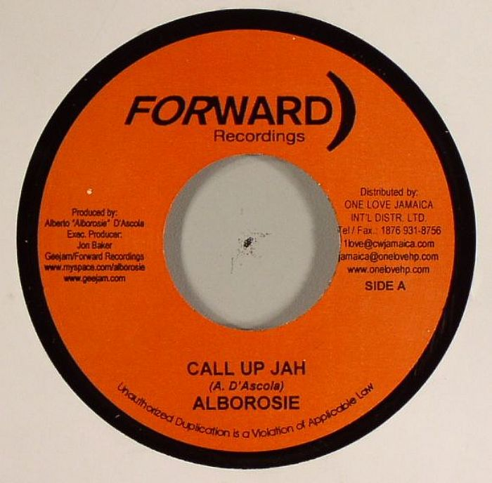 Alborosie - Call Up Jah lyrics