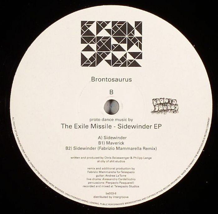 EXILE MISSILE, The - Sidewinder EP