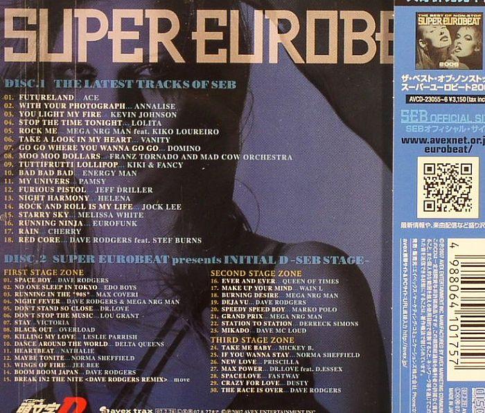 Various Super Eurobeat Presents Initial D Battle Stage 2