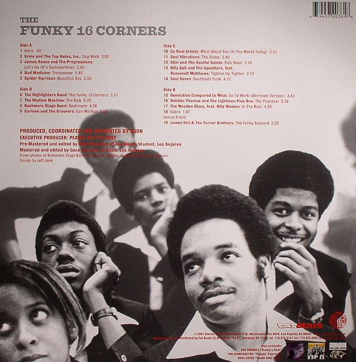 VARIOUS - The Funky 16 Corners