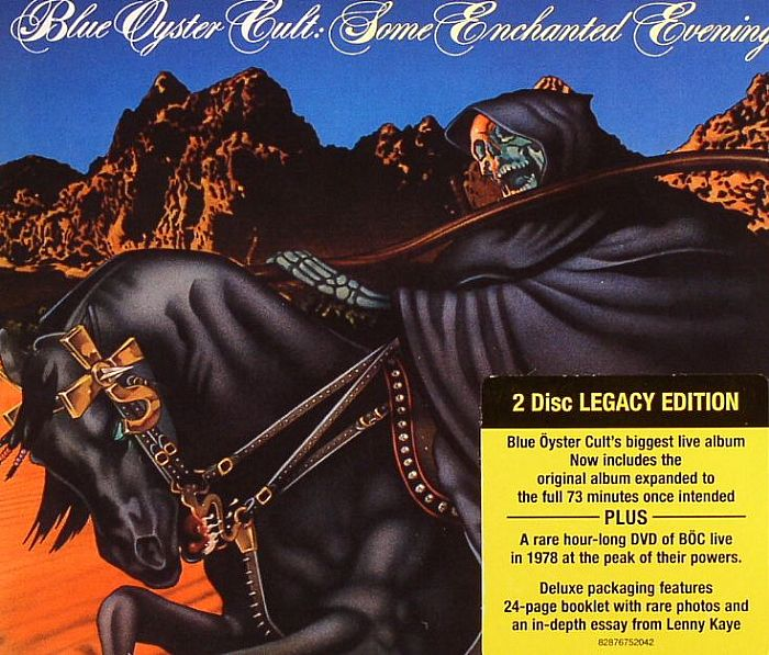 blue oyster cult some enchanted evening vinyl at juno records