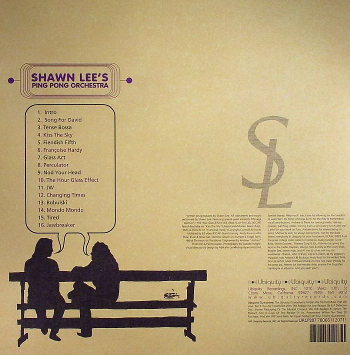 SHAWN LEES PONG PONG ORCHESTRA - Voices & Choices
