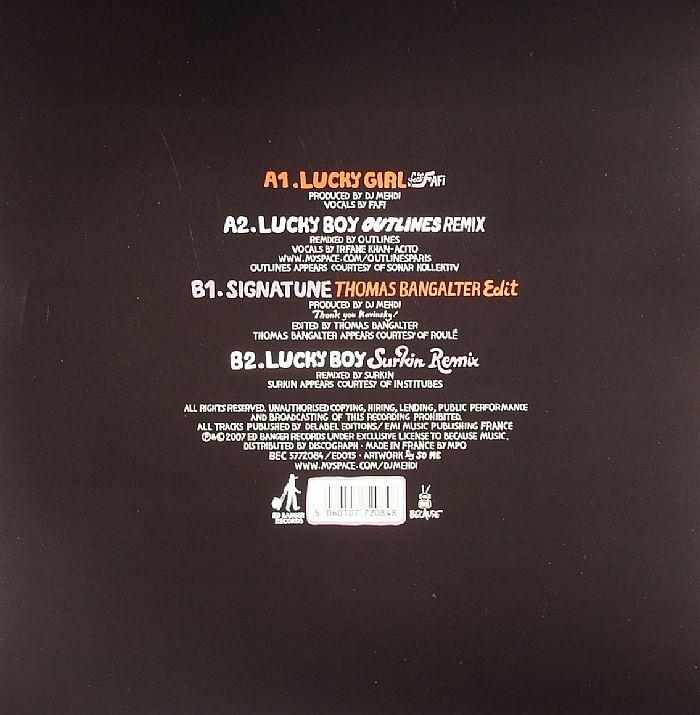 DJ MEHDI - Lucky Girl EP
