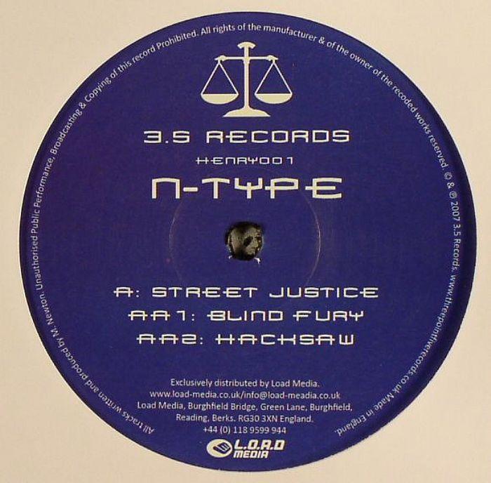 N Type Street Justice Ep Vinyl At Juno Records