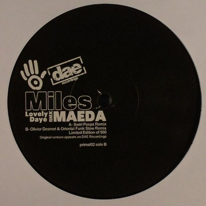 MAEDA, Miles - Lovely Daye (remixes)