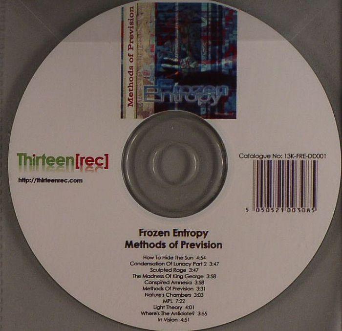 FROZEN ENTROPY - Methods Of Prevision