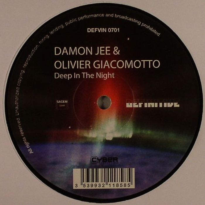 Damon jee olivier giacomotto deep in the night vinyl at for Domon olivier