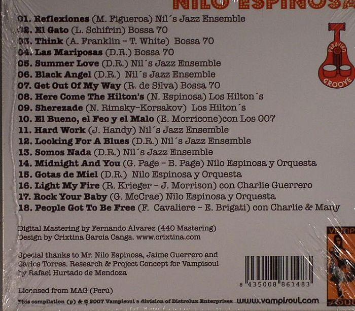 Nilo Espinosa Shaken Not Stirred