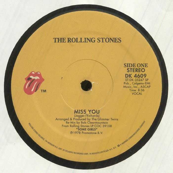 The Rolling Stones Miss You Vinyl At Juno Records