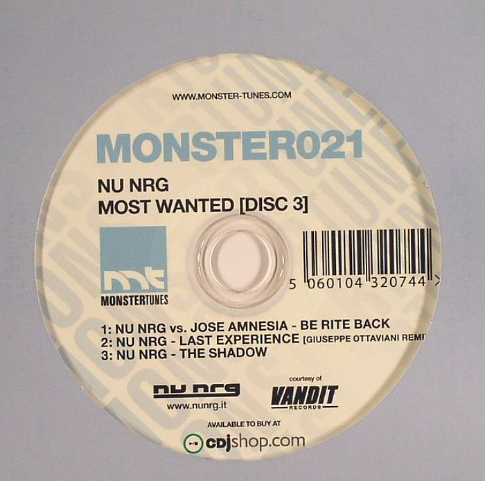 Nu NRG - Most Wanted (Disc 2)