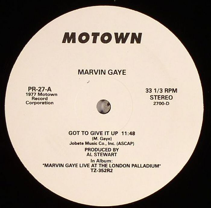 GAYE, Marvin - Got To Give It Up
