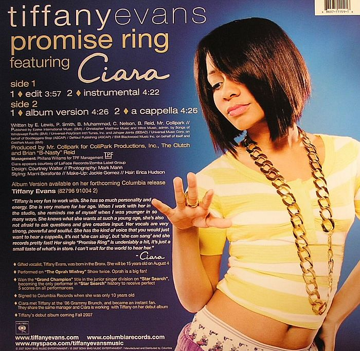feat ciara promise ring vinyl at juno records
