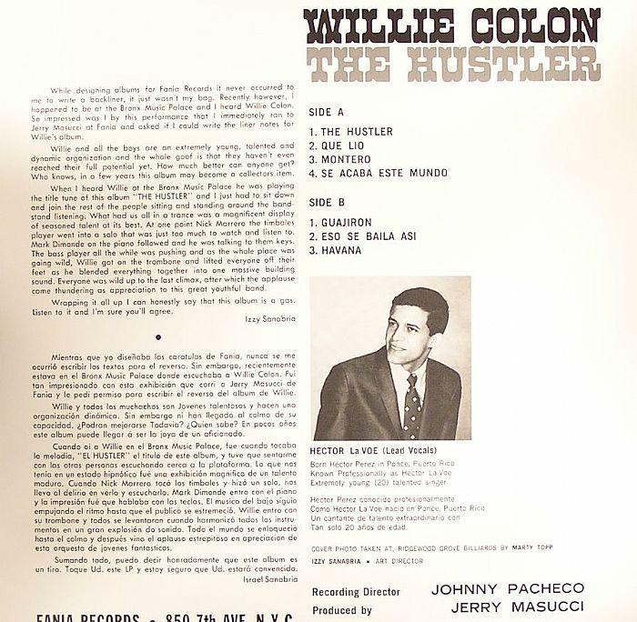 COLON, Willie - The Hustler