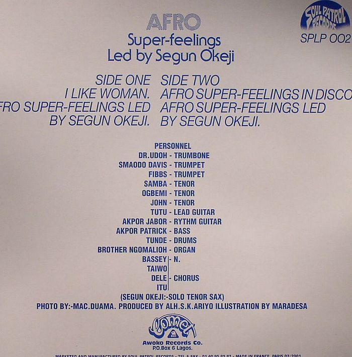 SEGUN OKEJI - Afro Super Feelings : I Like Woman